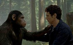 James Franco in Rise of the Planet of the Apes. Click image to expand.