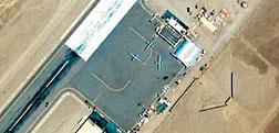 Google Earth photo of an airfield in Pakistan.