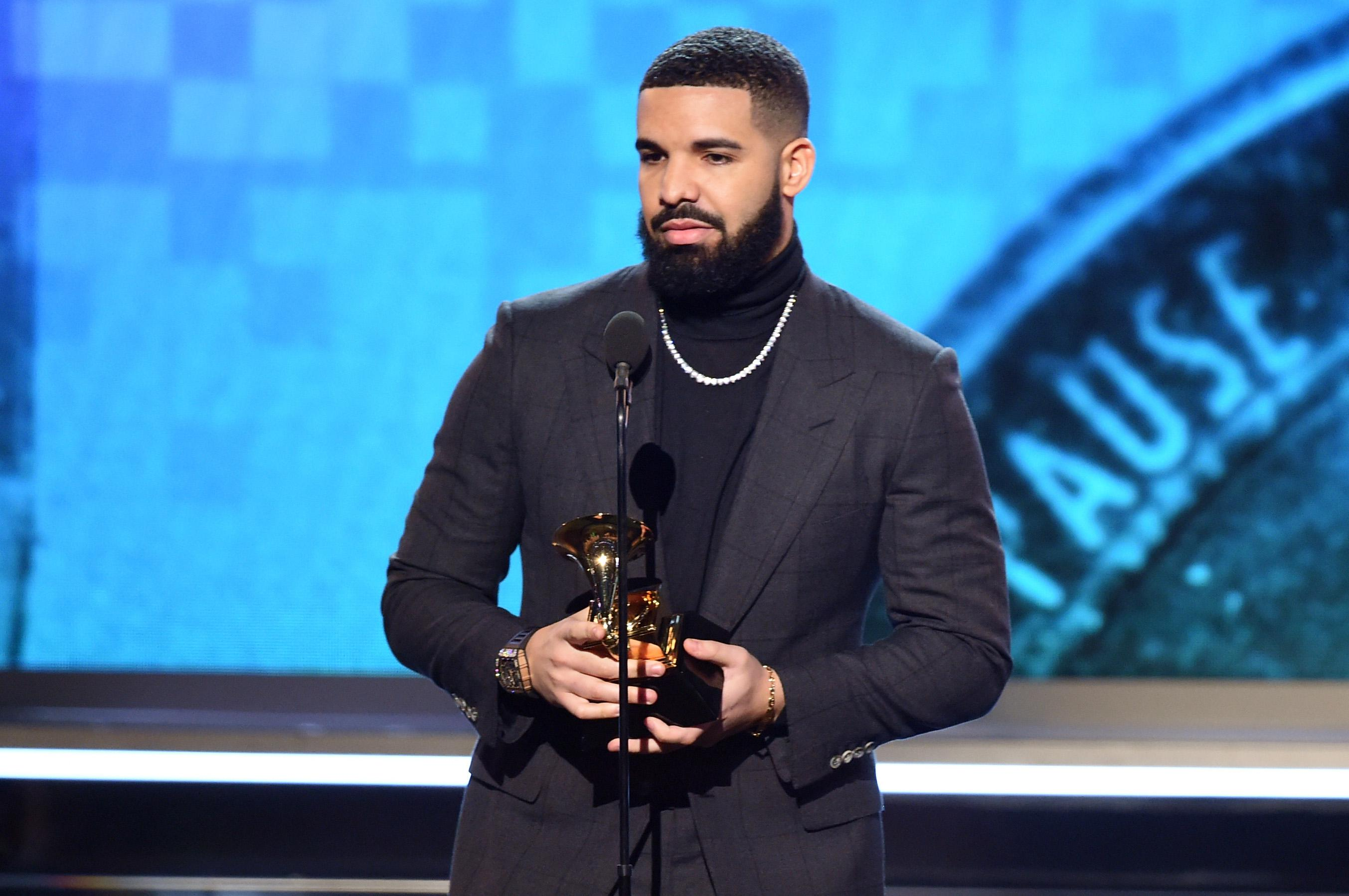 It was a surprise that Drake even showed up. The Grammys may wish he hadn't.