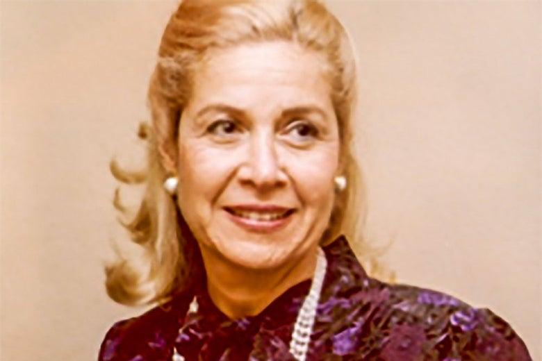 Color headshot of Rhoda Solin Isselbacher.