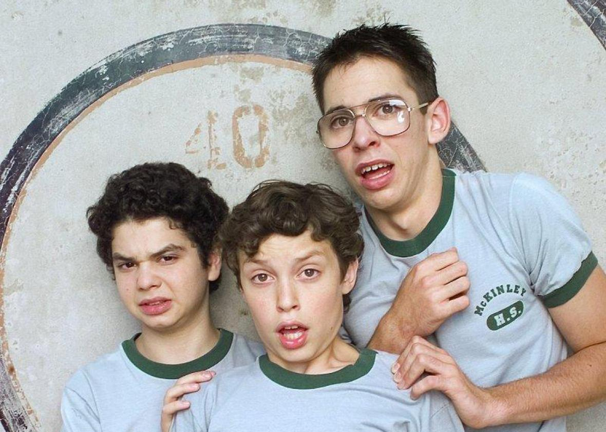 John Francis Daley, Samm Levine and Martin Starr in Freaks and G