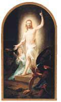 Resurrection, by Johann Heinrich Tischbein the Elder, 1778