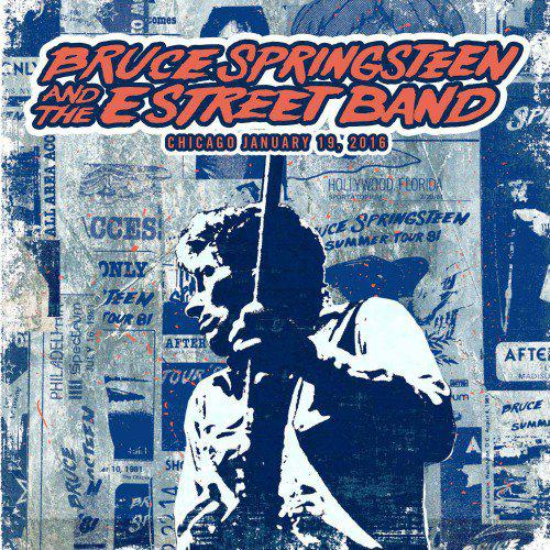 Cover via Springsteen's official website