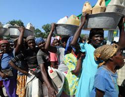Haitian earthquake survivors. Click image to expand.