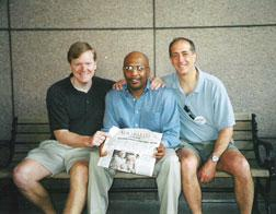 Gordon Cooney, John Thompson and Michael Banks. Click image to expand.