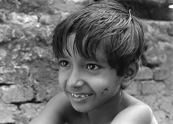Subir Banerjee as Apu in Pather Panchali, Apu Trilogy.