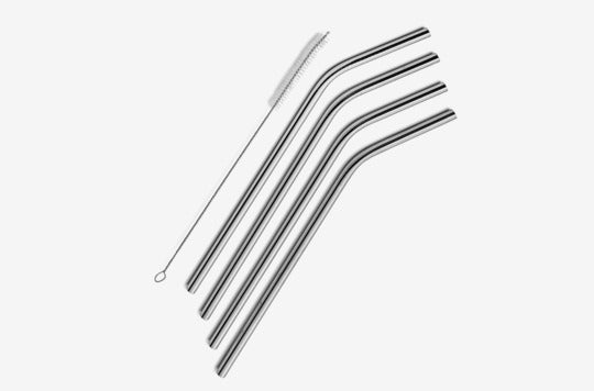 SipWell Stainless Steel Drinking Straws.