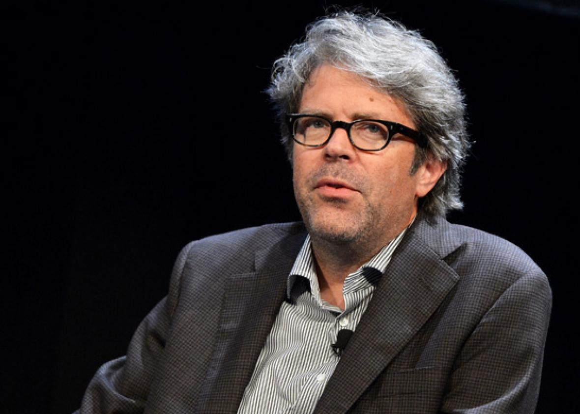 Novelist/essayist Jonathan Franzen attends panel 'An Exchange - Is Techonology Good for Culture?' part of The New Yorker Festival 2013 on October 5, 2013 in New York City.