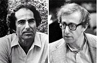 Philip Roth and Woody Allen