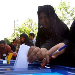Woman voter.
