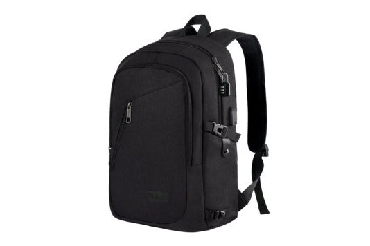 Mancro laptop backpack.