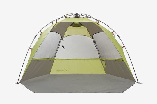 Lightspeed Outdoors Sun Shelter With Clip-Up Privacy Feature.