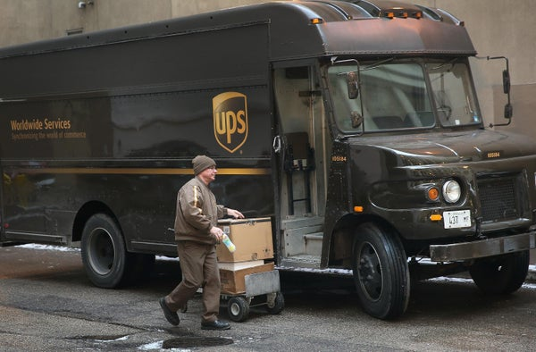 UPS fires 250 employees for staging a strike in Queens, N.Y.