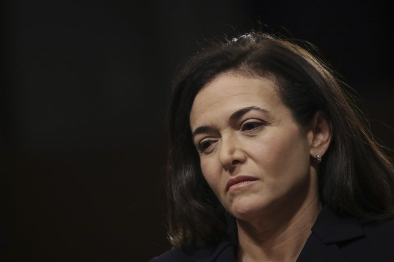 COO Sheryl Sandberg disclosed that she had come across Definers's work.