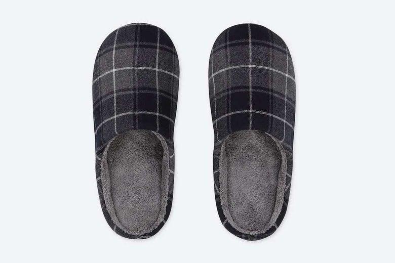 Uniqlo Flannel Slippers