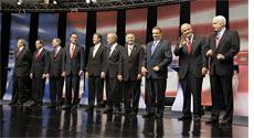 Republican Presidential hopefuls. Click image to expand.