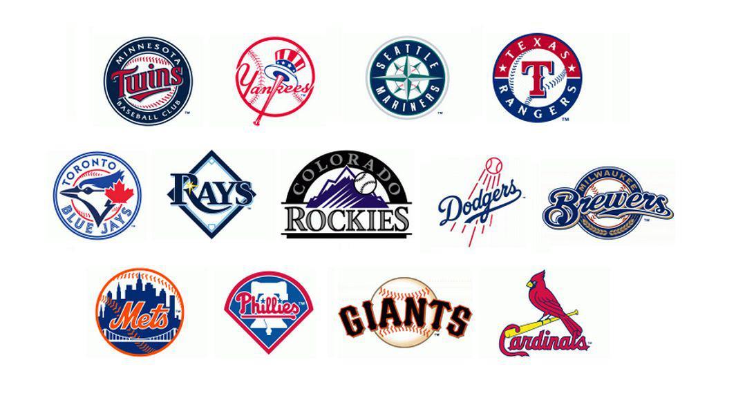 3 - baseball logos with balls 1065