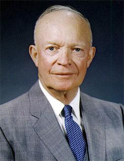 Dwight D. Eisenhower photo portrait, 1959.