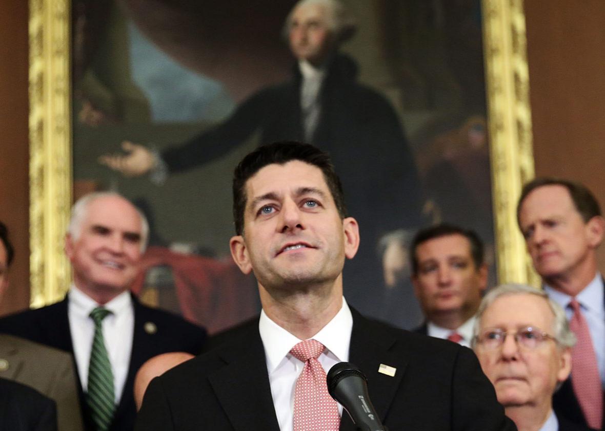 U.S. Speaker of the House Rep. Paul Ryan