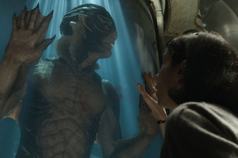 Still from The Shape of Water.