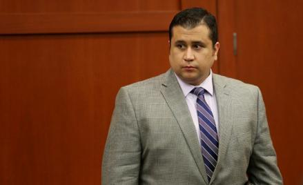 George Zimmerman prepares to exit court for the day in his trial in Seminole circuit court June 27, 2013 in Sanford, Florida.