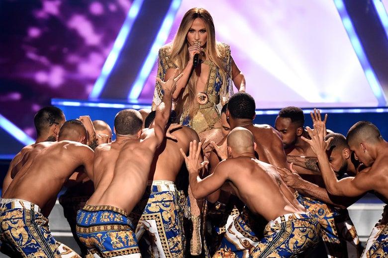 Watch Jennifer Lopez, First Latina Winner of the VMAs' Biggest Award, Perform All Her Hits