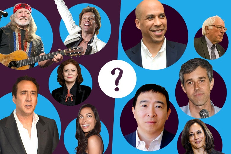 Quiz: Can You Match These Celebrity Donors With the Primary Candidate They're Supporting?