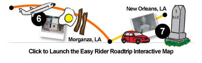 Click to Launch the Easy Rider Roadtrip Interactive Map.