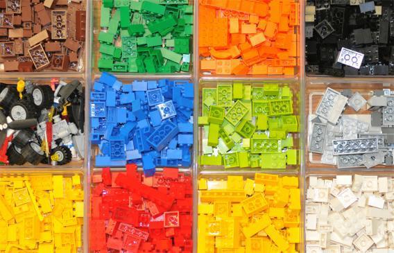 Legos Colorganize