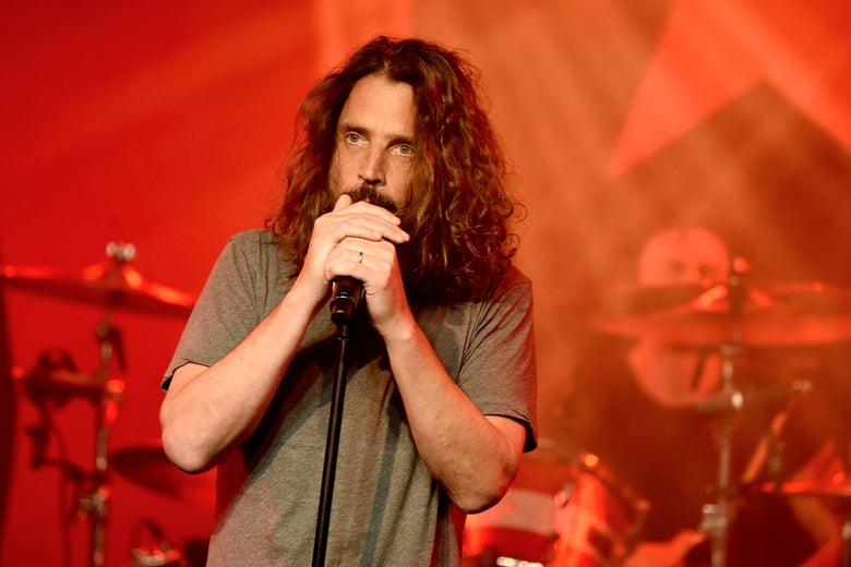 Chris Cornell performing in 2017.