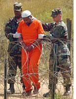 Guantanamo Bay prisoner         Click image to expand.