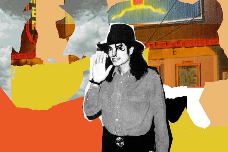 Michael Jackson in <i>Leaving Neverland.</i>