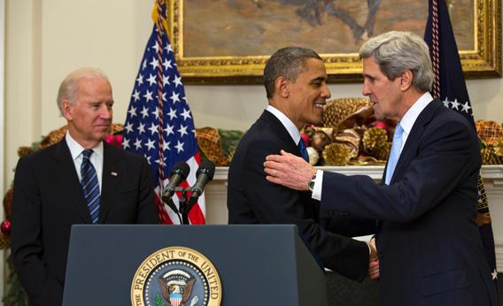 President Barack Obama nominates Sen. John Kerry to be the next Secretary of State