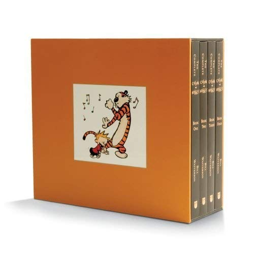 Delight in Ten Years of Calvin and Hobbes With This Box Set, Now on Sale