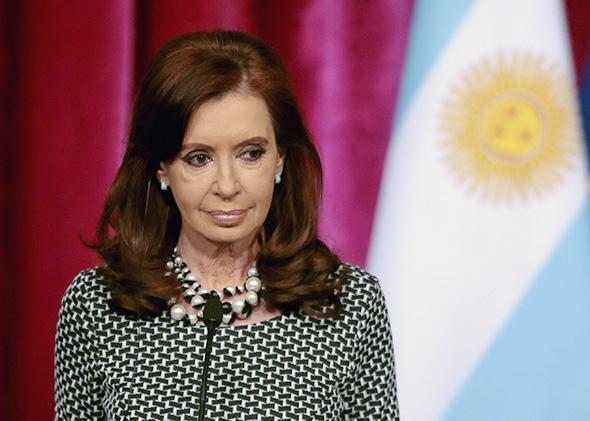 Argentinian President Cristina Kirchner