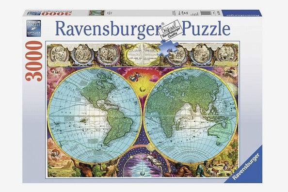 Ravensburger Antique Map 3000-Piece Puzzle