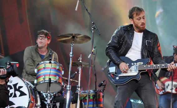 Patrick Carney and Dan Auerbach of the Black Keys