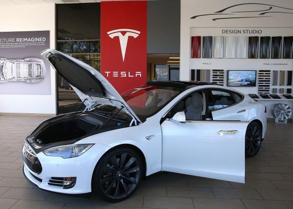 """Tesla Model S """"D"""""""