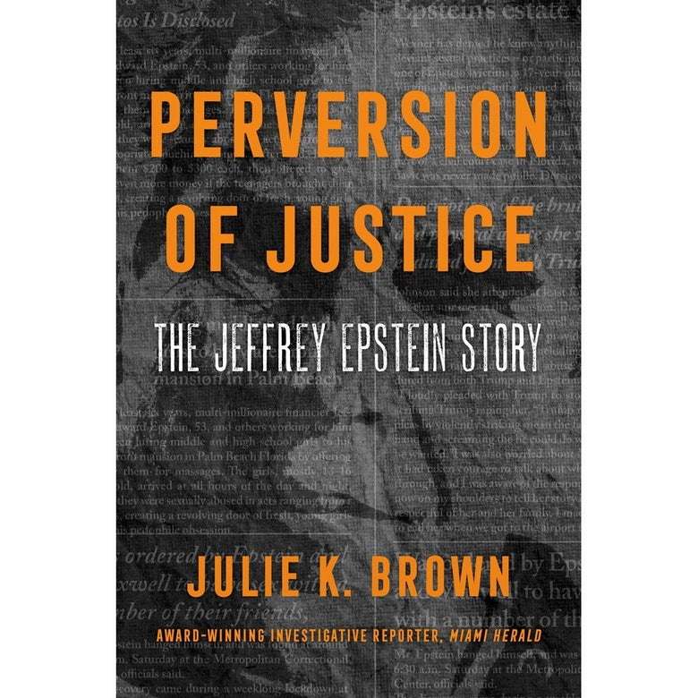 The cover of Perversion of Justice.