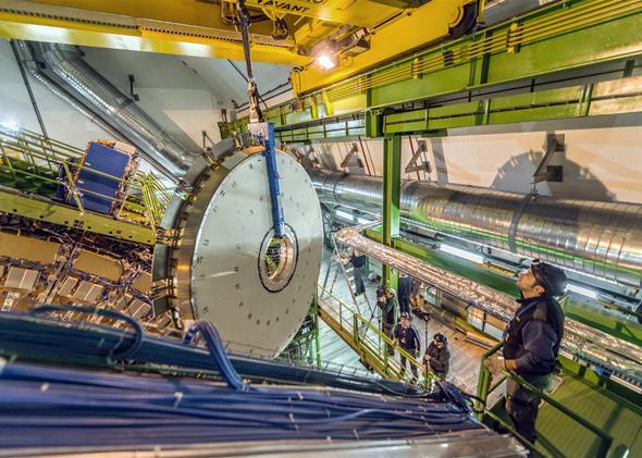 CERN lab, Dec 2013.