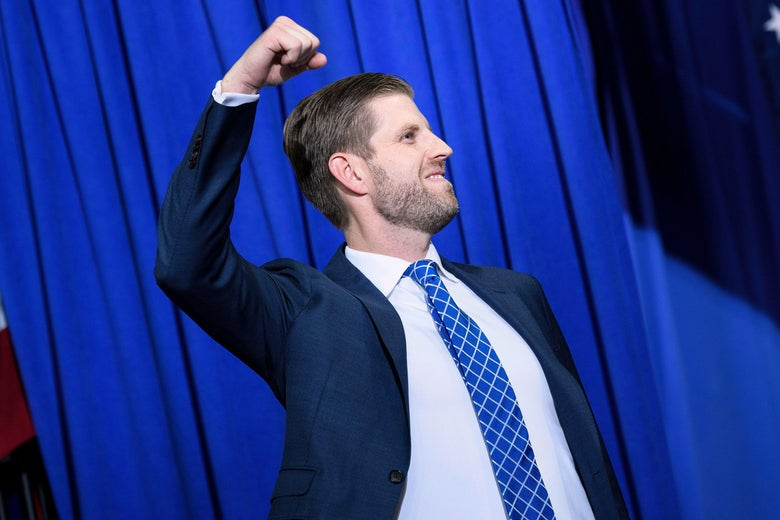 "Eric Trump: ""Sickening"" How ""Every Family in Politics Enriches Themselves"""