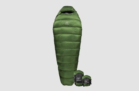 Outdoor Vitals Summit 0°F Premium Down Sleeping Bag.