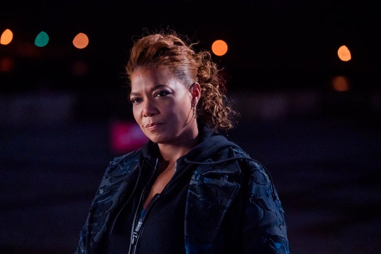 Queen Latifah in The Equalizer.
