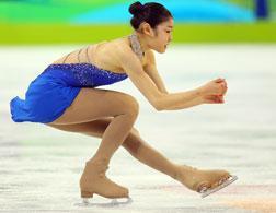 South Korea's Kim Yu-Na. Click image to expand.