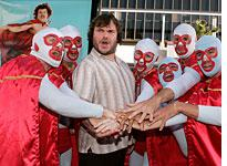 Jack Black at the Nacho Libre premiere         Click image to expand.
