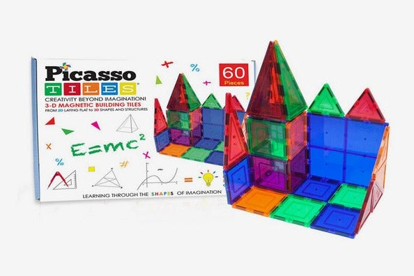 Picasso Tiles 60-Piece Set