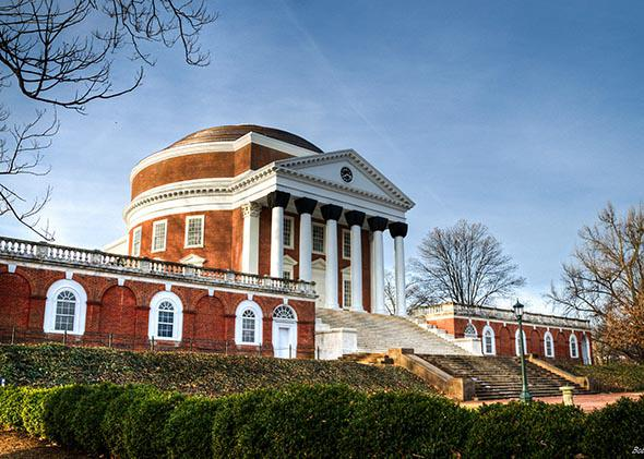 UVA Rotunda.