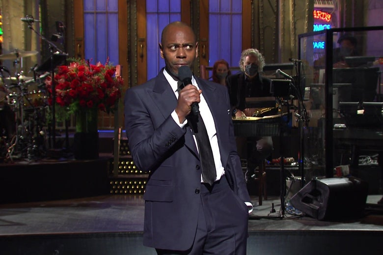 Watch Dave Chappelle's Blistering Saturday Night Live Opening Monologue