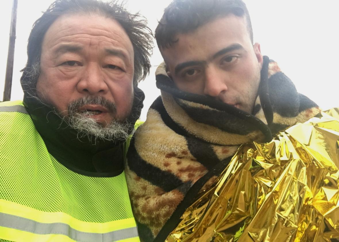 Ai Weiwei in Human Flow