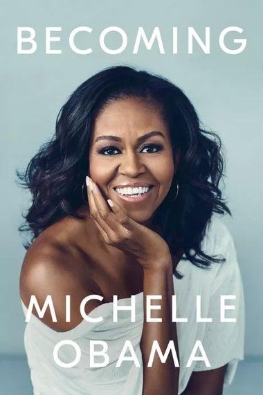 Michelle Obama memoir cover.